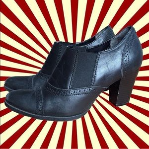 Shoes - Black Cowboy Bootied