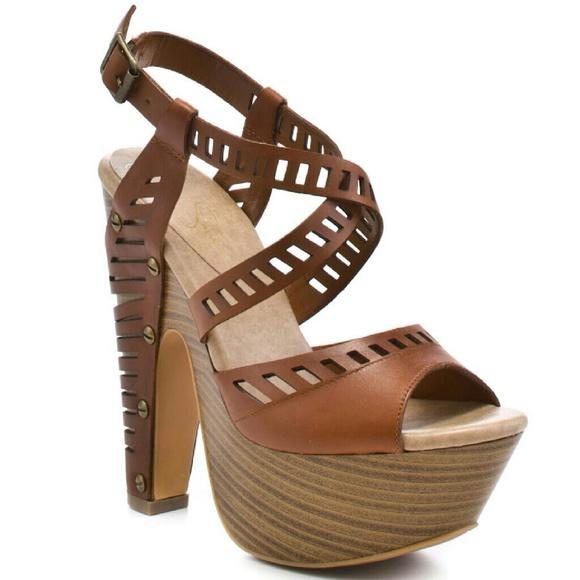 7b68abbcda9 Jessica Simpson Shoes - Jessica Simpson Trixie Platform Jeels 8M