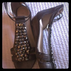 Enzo Angiolini Shoes - Enzo classy Silver Sandals