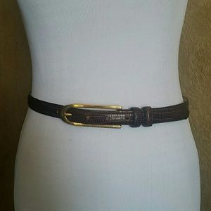 annabella Accessories - Annabella Leather Belt