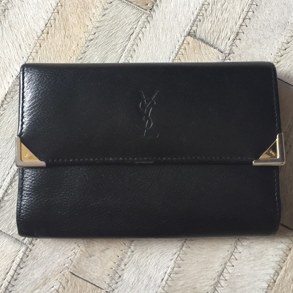 d92cda987f YSL - Yves Saint Laurent Trifold Wallet