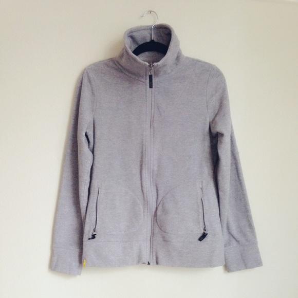 Lole - Lole stone-grey fleece jacket from ! smiling bear's closet ...
