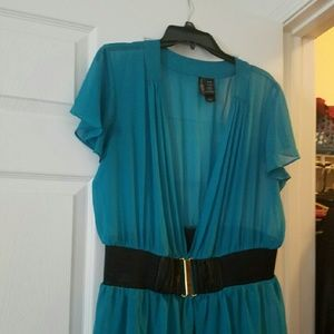 Bisou Bisou Turquoise Top