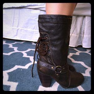 Brown Mudd Boots
