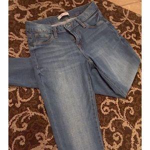 Refuge Blue Skinny Jeans