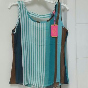 yes Tops - Nice top by Yes size Small Sheer Semi backless