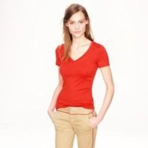 J. Crew Tops - J.Crew Vintage Cotton V-Neck Tee