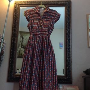 Dresses & Skirts - Vintage flower maxi dress