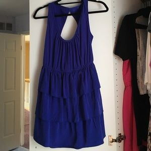 5th Culture Dresses & Skirts - Royal blue silky dress
