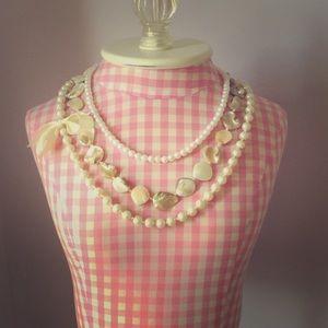 Jewelry - Multi-Strand Pearl Necklace