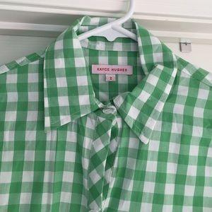 Kayce Hughes Basic Button Down Shirt