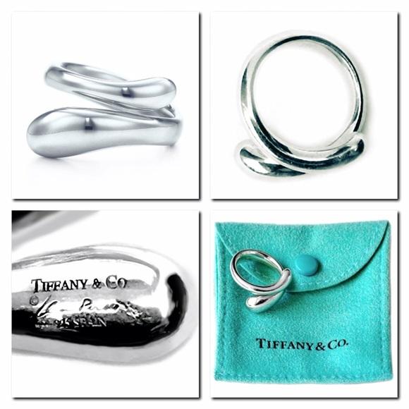 e1b5349c5 Tiffany & Co. Jewelry | Tiffany Co Elsa Peretti Silver Teardrop Ring ...
