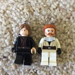 Lego Jewelry - Lego Star Wars earrings
