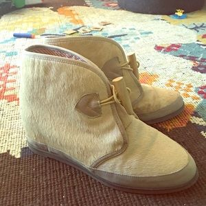 Anthropologie 80%20 Hidden Wedge Bootie