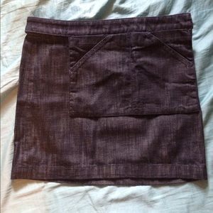 Kate Spade Saturday Denim Mini Skirt