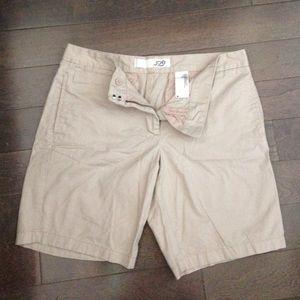 Joe Fresh khaki shorts