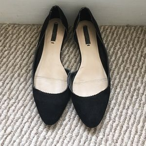 ⭐️ Zara black flats