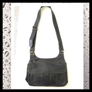 Fossil Handbags - Fossil NWOT Black Leather Shoulder Bag
