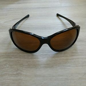 womens oakley abandon sunglasses  oakley abandon sunglasses for women brown