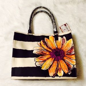Fall Into Florals Large Tote