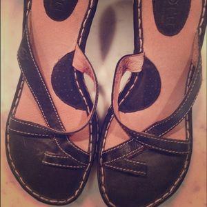 Born wedge sandals espadrilles
