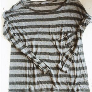 LAmade Tops - Lamade stripe metallic tee