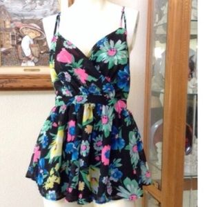 LF Pants - Romper Chiffon Floral  by paper heart from LF 💕