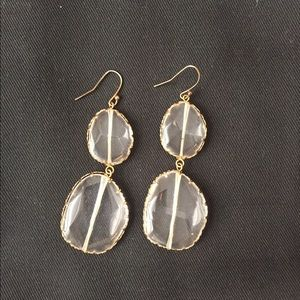 Bauble Bar crystal earrings
