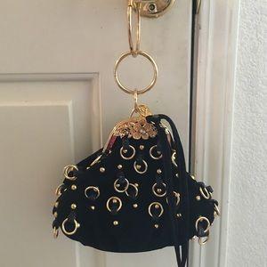 Very unique nice small bag.good quality suede