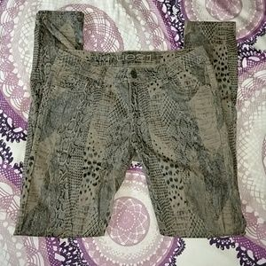Rue 21 Pants - Like new Rue 21 Animal Print Pants