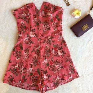 Leith Dresses & Skirts - New Floral Romper