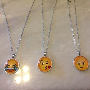Jewelry - 😂😊🤔Emoji necklace