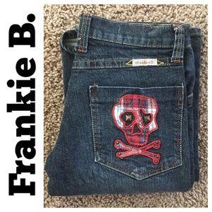 Frankie B RN#103390 bootcut Jean in size 0
