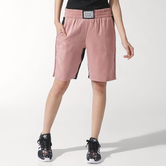 Adidas Pants - Adidas Originals Women s Pink boxing short 6fe89182aa