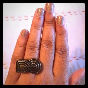 Low Luv x Erin Wasson Jewelry - Fun abstract ring