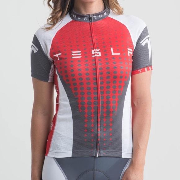 fe9014b4b Tesla Race-Cut Cycling Jersey