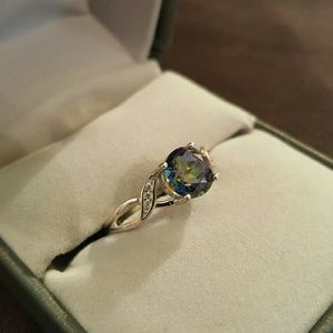 Jewelry - SOLD!!!!-- Mystic Topaz ring, set in SS.925