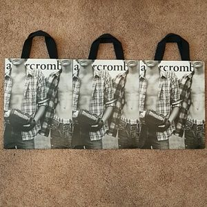abercrombie kids Other - Lot of 3 abercrombie kids shopping bags