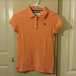 abercrombie kids Other - Orange abercrombie kids Polo NWT