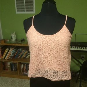 Forever 21 Tops - Super cute lace front cami from F21.