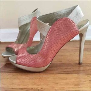 Carlos Santana Shoes - Carlos Santana pink heels pumps Nordstrom GORGEOUS