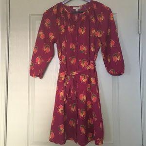 Tucker Dresses & Skirts - Tucker for Target floral shirt dress, Sz S