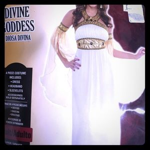 Devine goddess Halloween costume