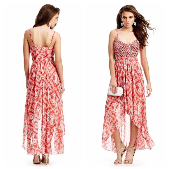 71f38edd14ca Guess by Marciano Dresses   Skirts - GUESS by Marciano Print Maxi Dress