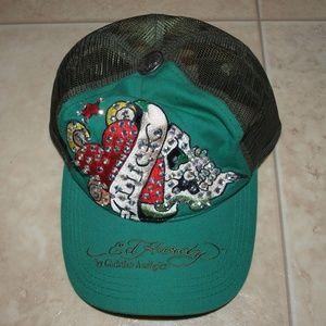 Ed Hardy Other - $5 Ed Hardy blinged hat