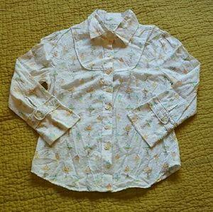 Anthropologie sample blouse. Icecream print!