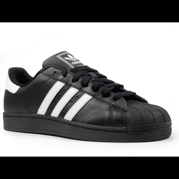 cedae6aeabd3cd Adidas Shoes - Adidas Black and White Shell Toes.NEW. UO EXCLUX.