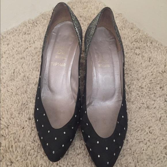 94f6a39209d5 Christian Dior Shoes - Christian Dior Sparkle Heels