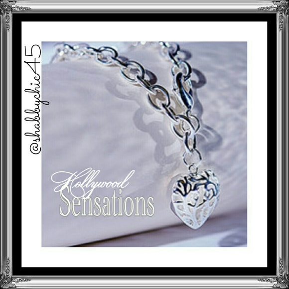 Hollywood Sensations Jewelry - Reece Heart Bracelet by Hollywood Sensation