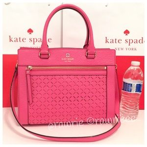 SALE New Kate Spade perforated leather tote